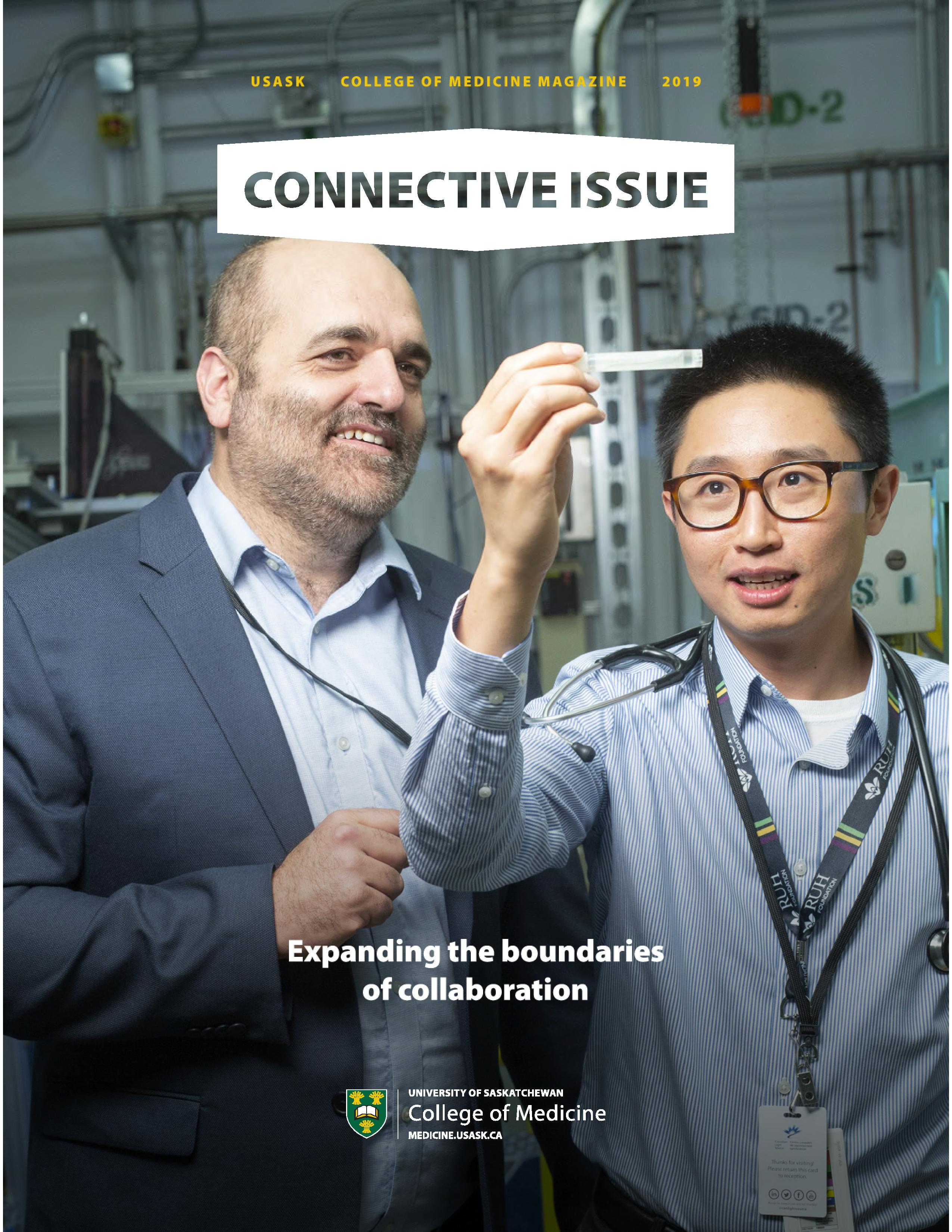 Connective Issue Fall 2019 Magazine
